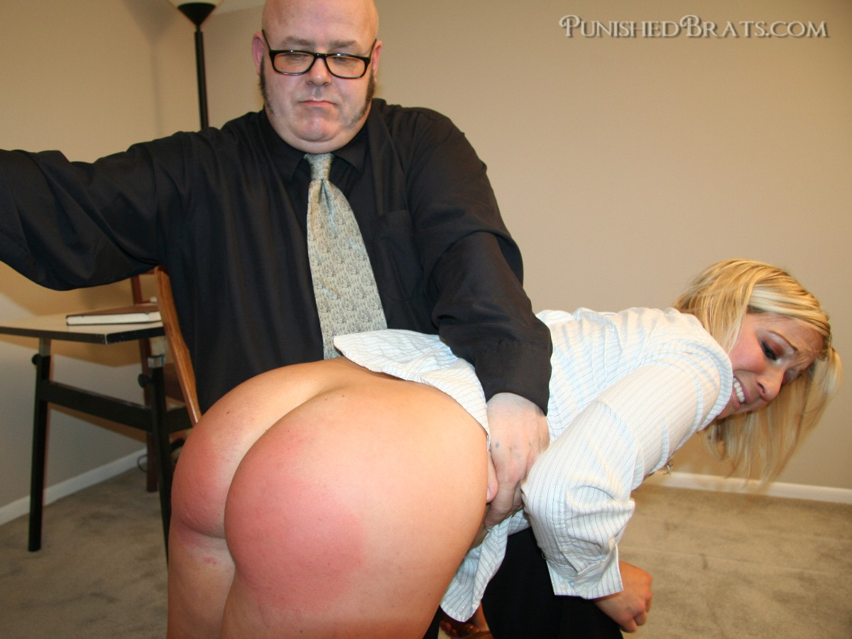 Paddle her bare bottom 6