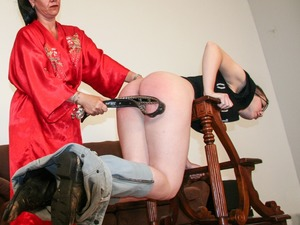 Strap on dildo training